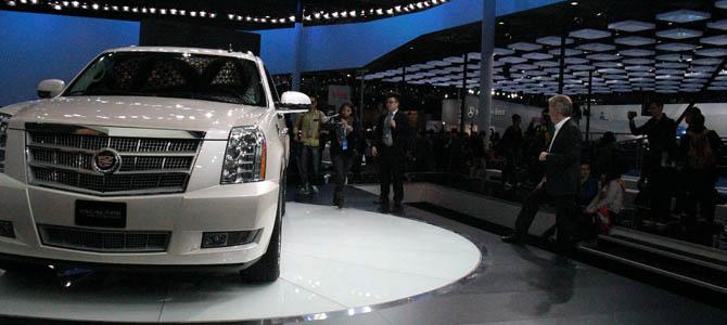 GM Shanghai Motor Show 2013
