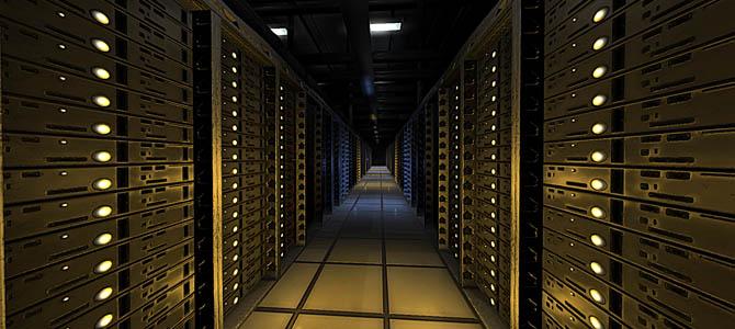 Server Room - Picture courtesy exsmarketing.com
