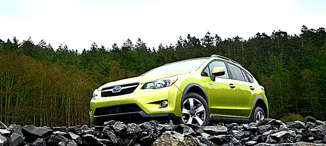 Could be greener - Crosstrek XV Hybrid
