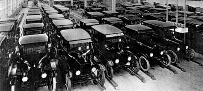 When Henry Fords Highland Park MI Assembly Line Started Moving Some 100 Years Ago It Produced Six Radically Different Versions Of The Model T