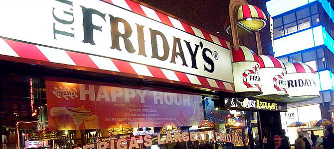 Fridays - Picture courtesy franchisehelp.com
