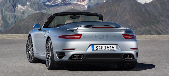 911 Turbo Cabriolet - Picture courtesy Porsche