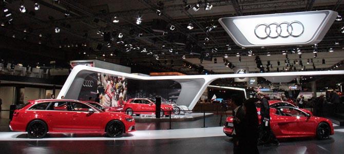 Audi red -  Picture courtesy Bertel Schmitt