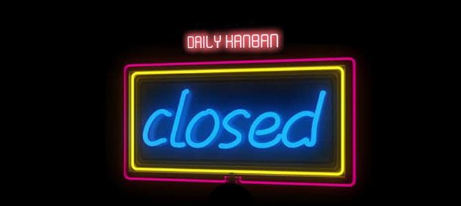 Closed - Picture courtesy nastymondays.com