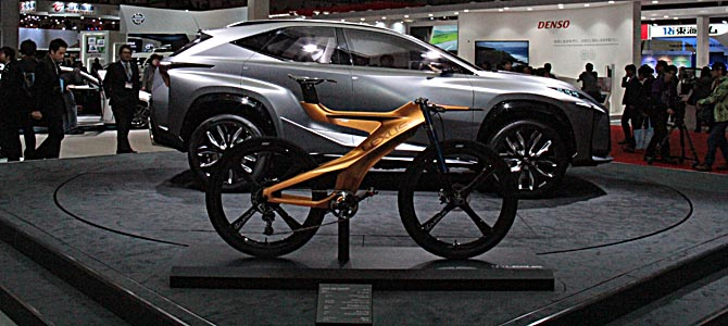 Lexus NXB Bike -2- Picture courtesy Bertel Schmitt