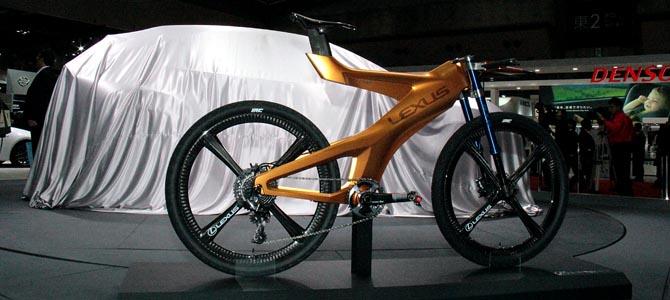 Lexus NXB Bike - Picture courtesy Bertel Schmitt
