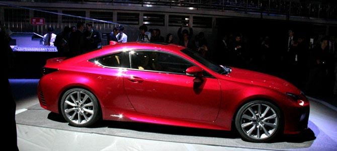Lexus RC - Picture courtesy Bertel Schmitt