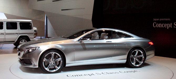 Mercedes S-Class coupe concept - Picture courtesy Bertel Schmitt