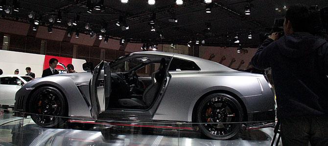 Nissan GT-R - Picture courtesy Bertel Schmitt