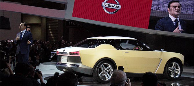 Nissan IDx 1 - Picture courtesy Bertel Schmitt