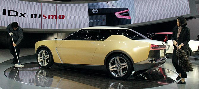 Nissan IDx Freeflow - Picture courtesy Bertel Schmitt