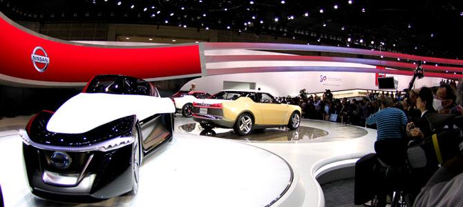 Nissan IDx and Bladeglider concepts - Picture courtesy Bertel Schmitt