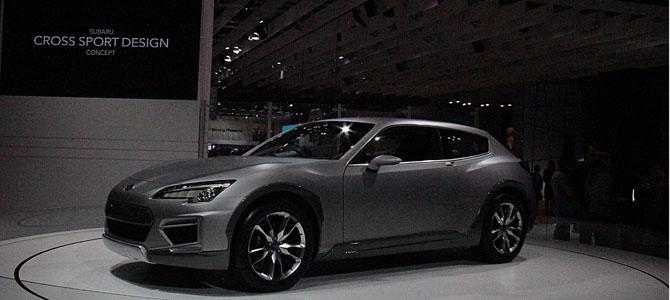 Subaru cross sport concept - Picture courtesy Bertel Schmitt