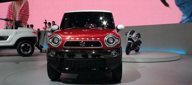 Suzuki Hustler concept - Picture courtesy Bertel Schmitt