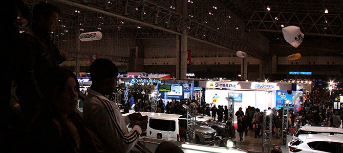 """With fresh masses of auto-otaku, their hearts going waku-doki, are pouring into the Tokyo Auto Salon (it goes until Sunday January 12,) we say """"jayne"""" (that's """"see you later"""" in Japanese). Until next year!"""