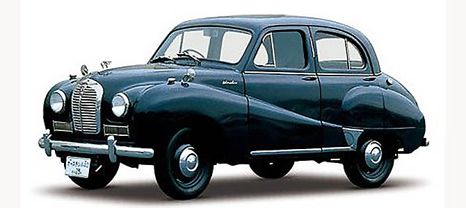 Austin A40 Somerset by Nissan