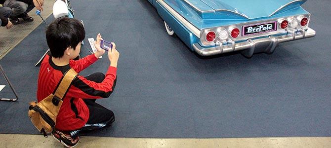 Youth - Tokyo Auto Salon - Picture courtesy Bertel Schmitt