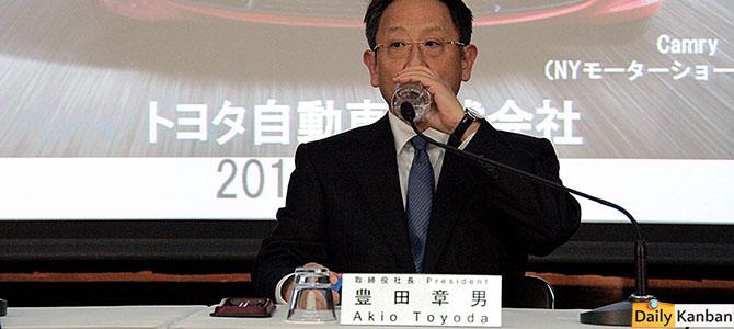 Akio Toyoda - picture courtesy Bertel Schmitt