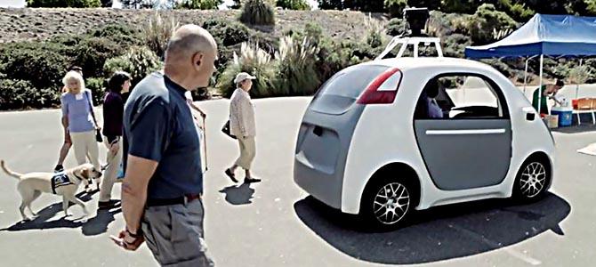 Self-Driving-Car - picture courtesy Slashgear