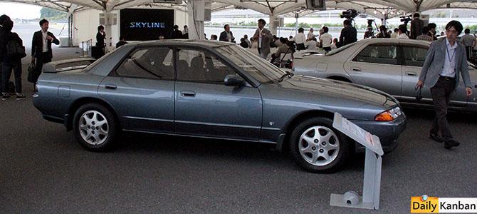 Skyline GTS25 1993 - Picture courtesy Bertel Schmitt