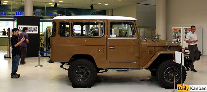 Land Cruiser 40 Series BJ44 1974-1979