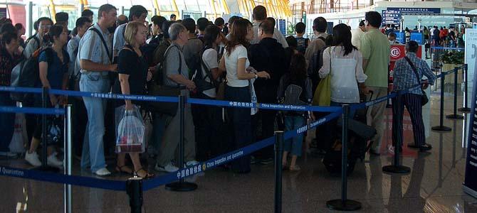 de Nysschen in Beijing, bags in Detroit