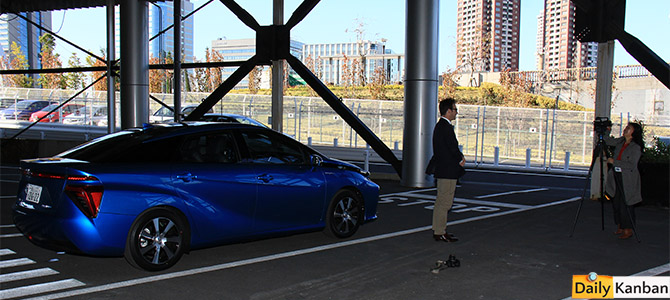 Mirai Test drive -4- Picture courtesy Bertel Schmitt