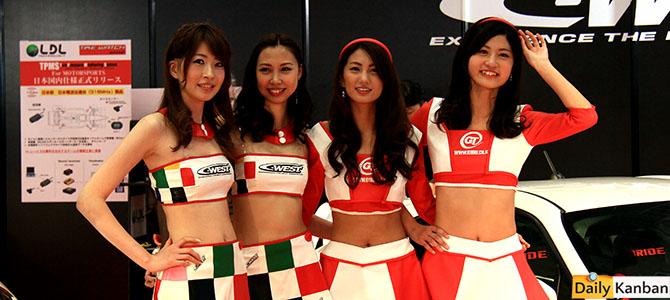 The girls of the 2015 Tokyo Autosalon -16- Picture by Bertel Schmitt