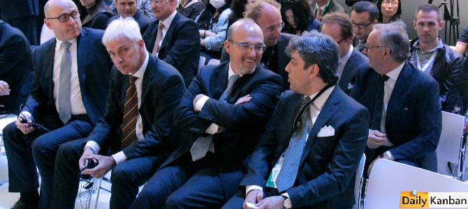 The new Audi chief? Christlian Klingler (center)