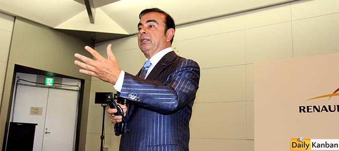 Carlos Ghosn TMS - Picture courtesy Bertel Schmitt