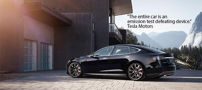 Model S - Picture courtesy Tesla