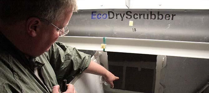 State-of-the-art Eisenmann Eco-Scrubber used in Volkswagen's Chattanooga Plant (Picture: Bertel Schmitt)